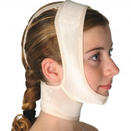Chin and Neck support, open ear