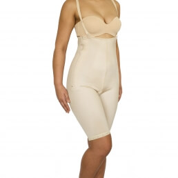 Female, Pants, Above knee, Underbust, Normal support, side Zip, Open crotch