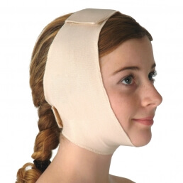 Chin support, Closed ear
